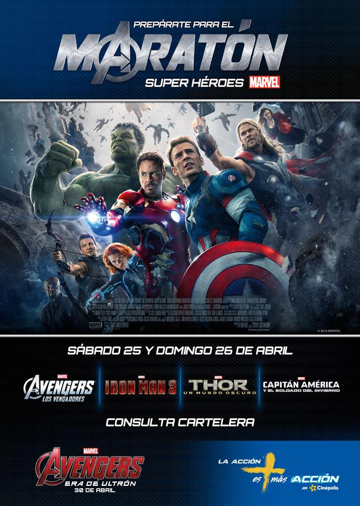 dfad9fdcb Disfruta del maratón de súper héroes de Marvel
