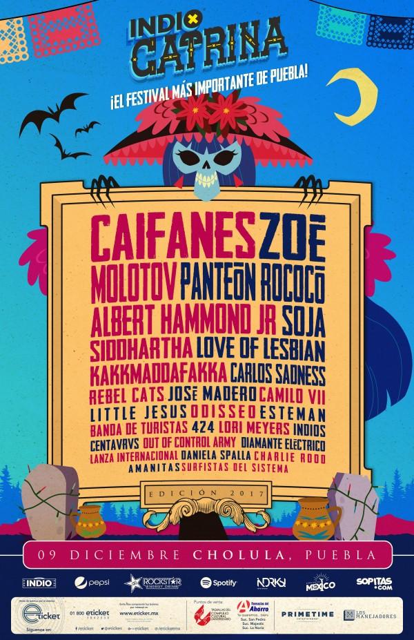 Cartel de Catrina Fest 2017