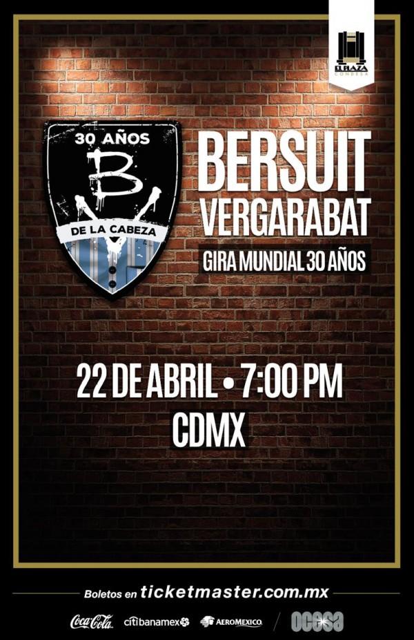 Arte oficial Bersuit Vergarabat