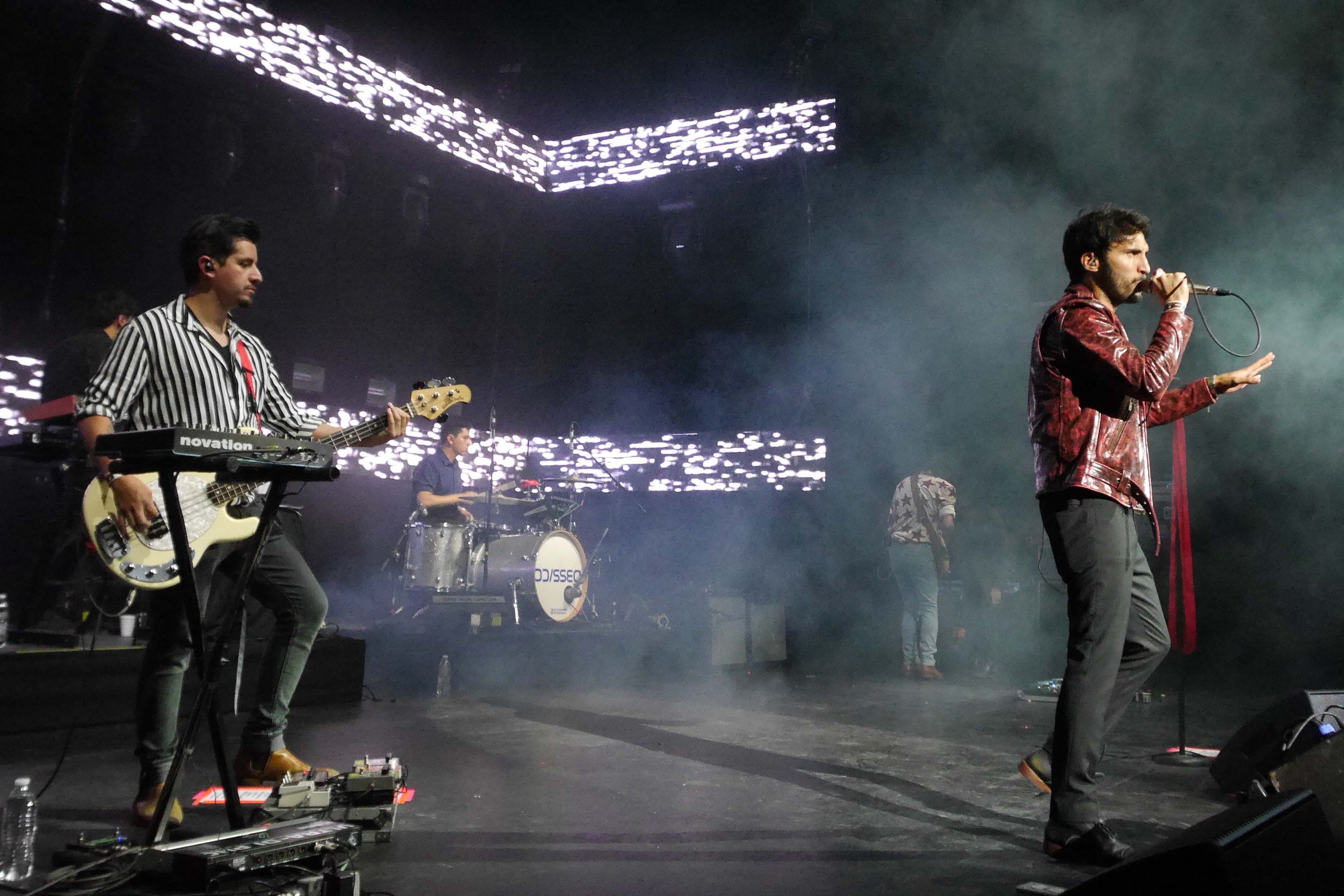 ODISSEO en el Teatro Metropólitan. Foto: Paulo Vidales/OCESA